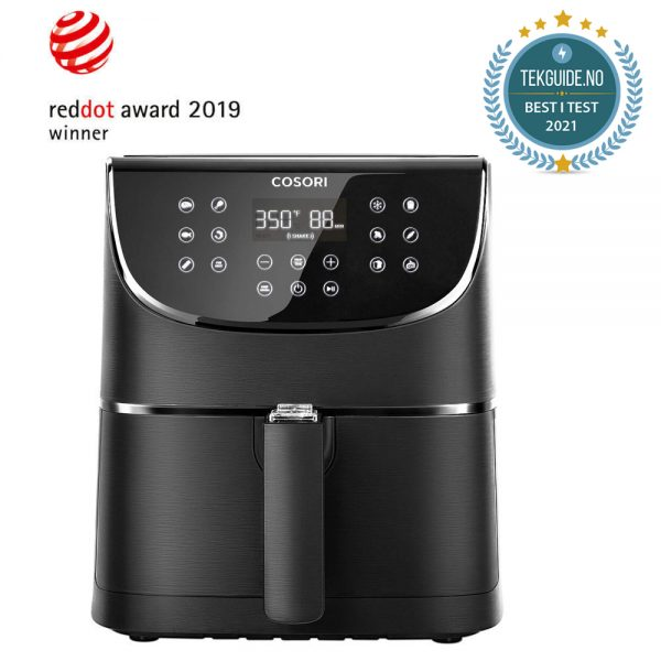 Airfryer Cosori premium svart best i test 2021