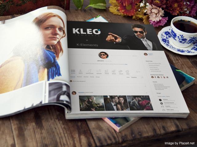 kleo buddypress bbpress rtmedia