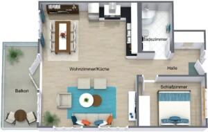 Wohnung Hessen No5