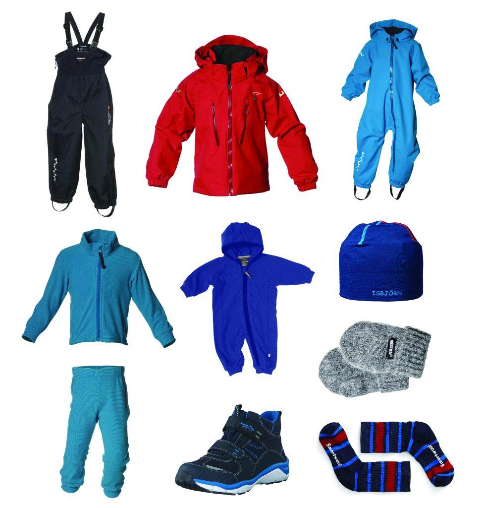 Ytterkläder till förskolan VÅR Aktivt familjeliv
