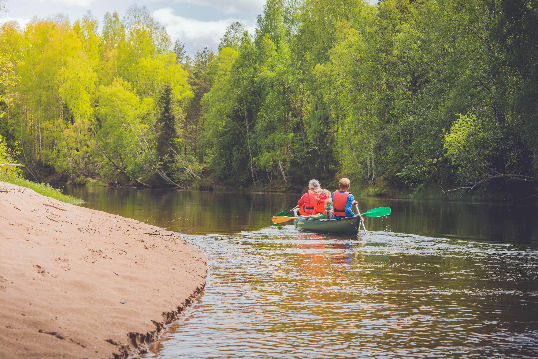 Voxna kanot och camping