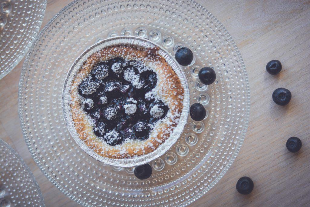 Blåbärs kaka