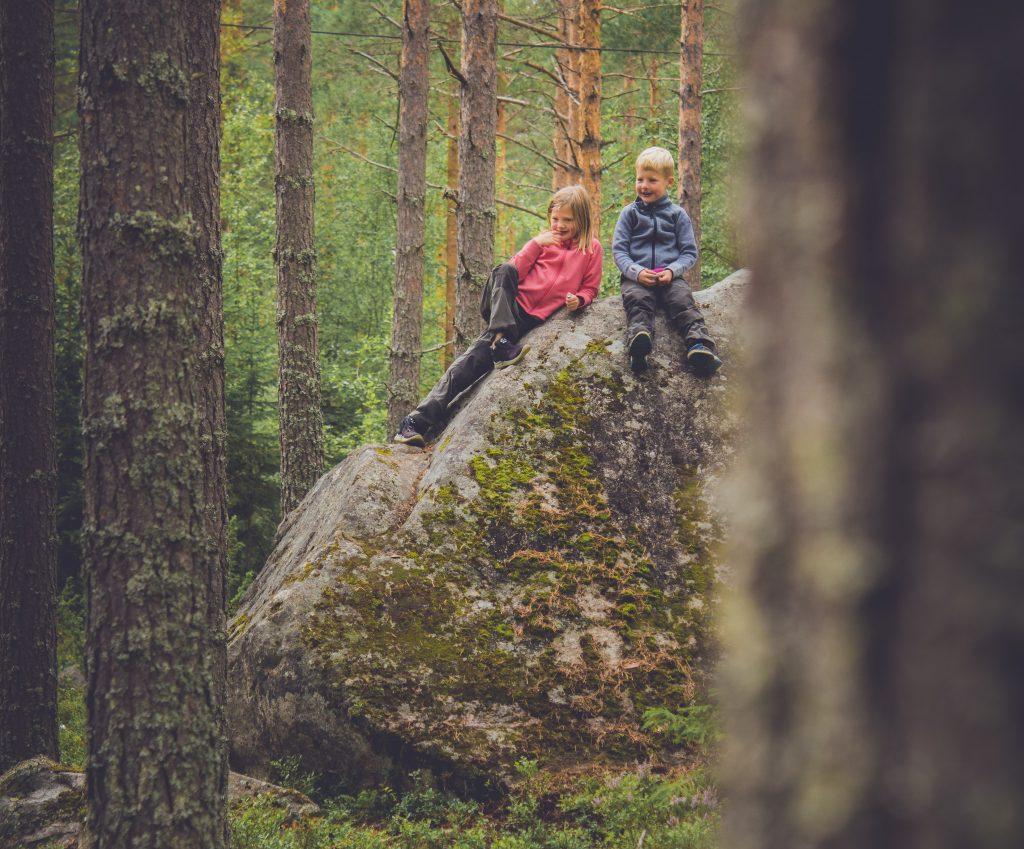 Skogen med barn
