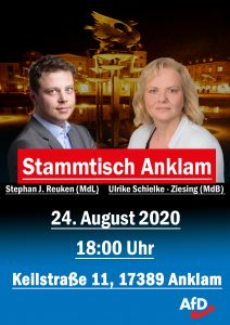 Stammtisch August in Anklam @ Akud e.V.