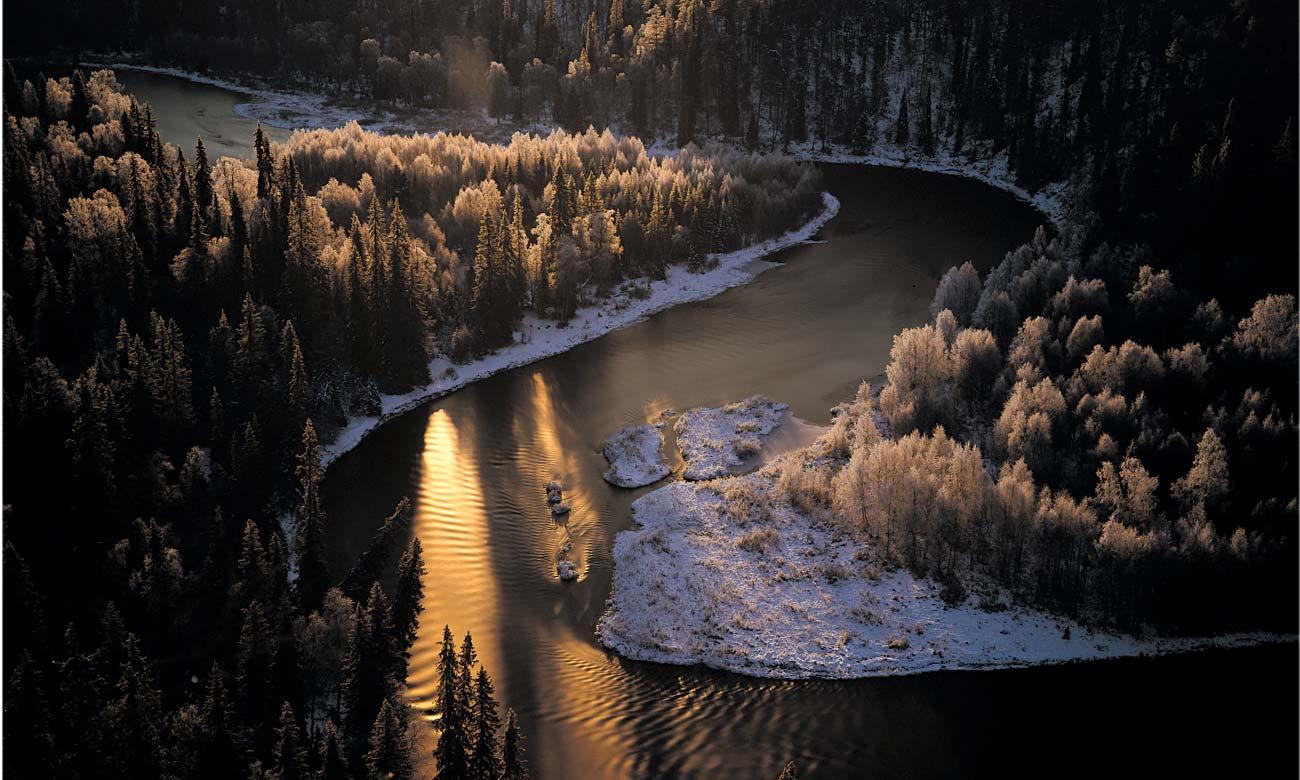 AKUprintti - Tauno Kohonen Valokuvaaja - Talvimaisema