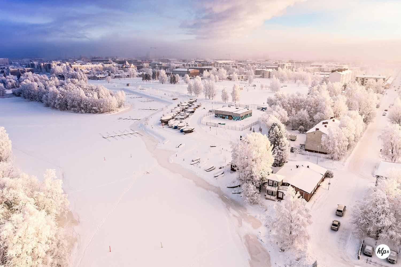 AKUprintti - Valokuvajaa Henri Luoma - Drooni - Talvi