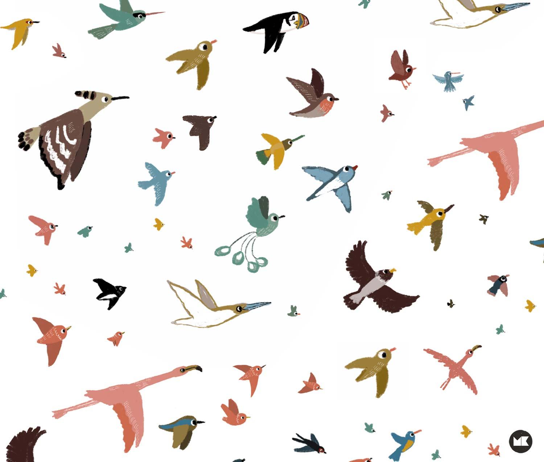 AKUprintti - Marieke Ten Berge - Kuvittaja - Linnut
