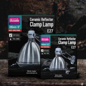Arcadia Ceramic Clamp Lamp