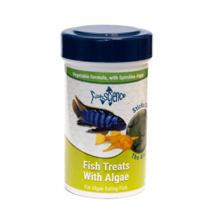 FishScience Fish Treats With Algae