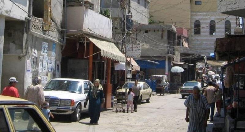 شوارع وبيوت مخيم عين الحلوة 1-4 – نضال حمد