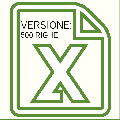 GESTIONALE EXCEL (500 RIGHE)