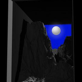 Diorama, inkjet on matte paper, 80 x 60 cm, edition of 5, 2013, Alexandra Crouwers