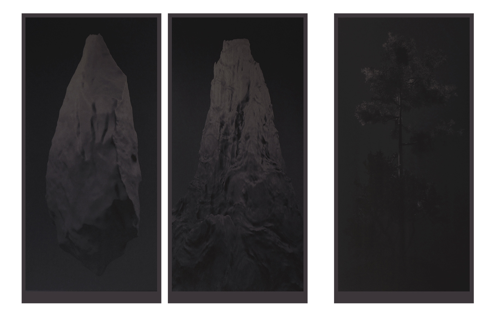 Alexandra Crouwers, 3 prints, 2016, 33 x 65cm