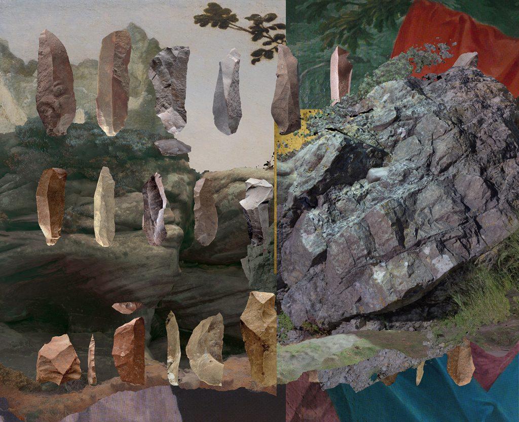Alexandra Crouwers, Lost_Horizon, wallpaper design