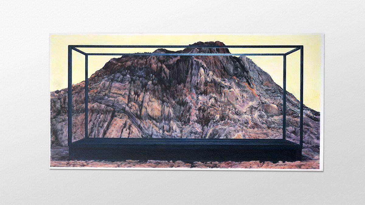 Alexandra Crouwers, drawing, 2018, diorama
