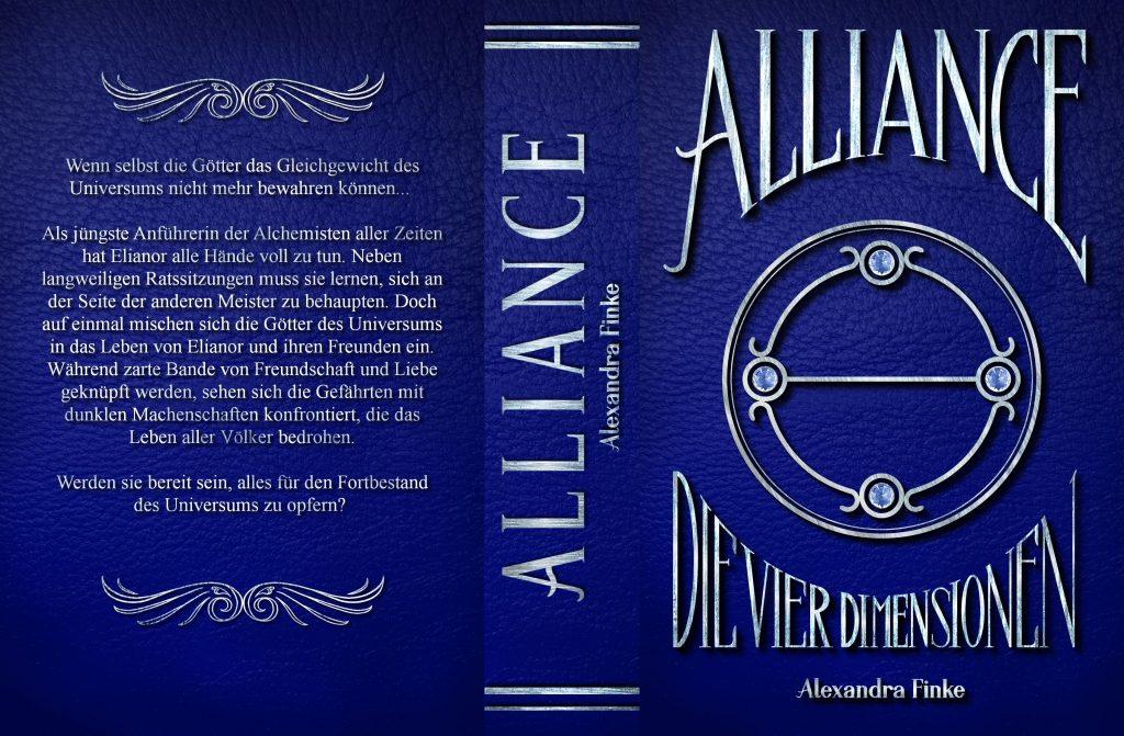 Komplettes Cover von Alliance: Die vier Dimensionen