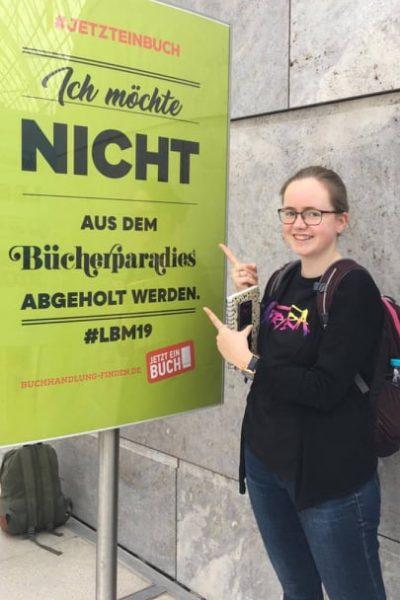 Alexandra Finke Leipziger Buchmesse
