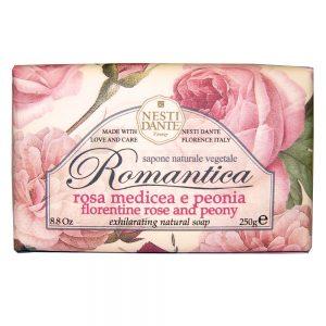 250g Exhilarating natural soap Florentine rose & Peony