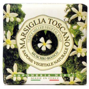 200g Fine Natual soap Muschio Bianco