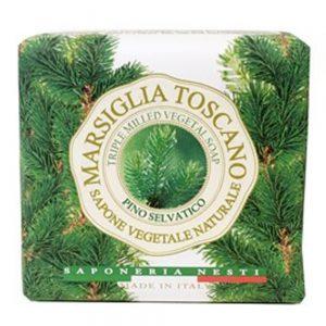 200g Fine natural soap Pino selvatico