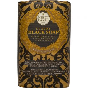 250g Fine natural Black soap