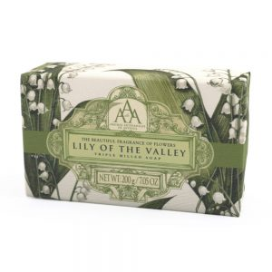 Triple milled soap lily of the valley 200g