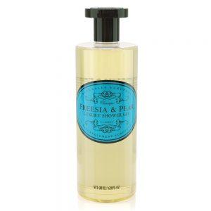 Luxury Shower gel Freesia & pear 500ml.