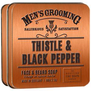 Face & Beard soap in Tin 100g