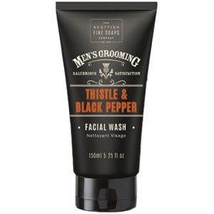 Facial wash 150ml Thistle & black pepper