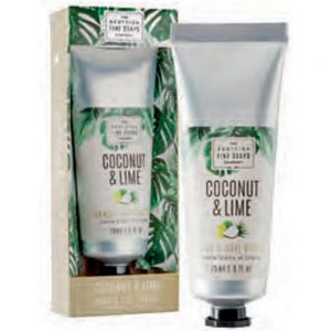 Coconut & Lime hand & nail cream 75ml