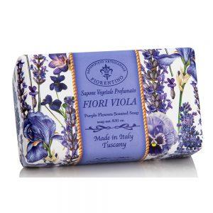 Vegetabilsk sæbe fiori viola 250g
