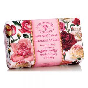 Vegetabilsk sæbe rose garden
