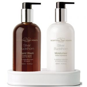 Hand care set Silver Buckthorn 2 x 300ml