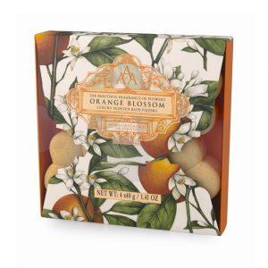Bath Fizzer 4 x30g i æske Orange Blossom