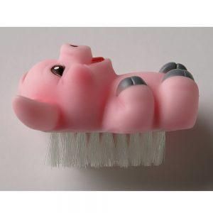 Neglebørste pink gris