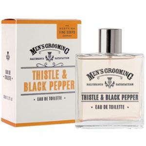 Eau de toilette 100ml Thistle & black pepper