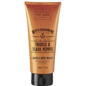 Hair & Body wash 200ml Thistle & black pepper