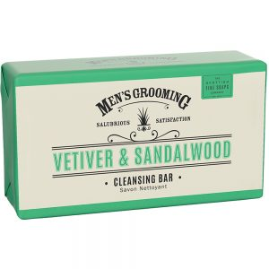 Cleansing bar Vetiver & Sandelwood 220g