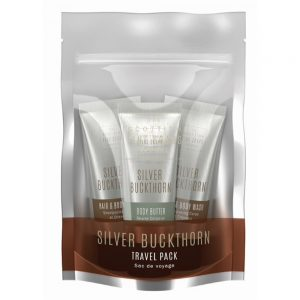 Travel Pack Silver Buckthorn  3 x75ml