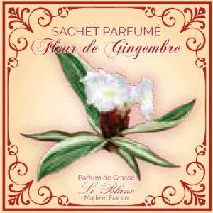 Fransk duftpose Gingembre/ ingefær blomst