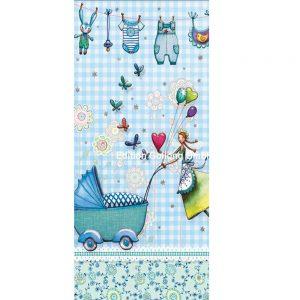 Mini lang kort med kuvert 10-189