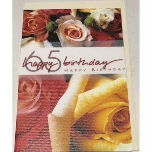 Kort med kuvert 1-898
