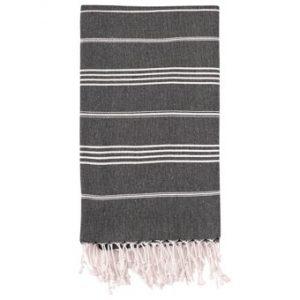 Hammam Håndklæde 95 x 180cm sort