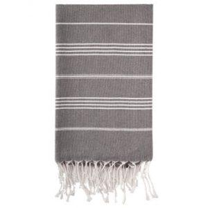 Hammam Håndklæde 95 x 180cm antracit grå