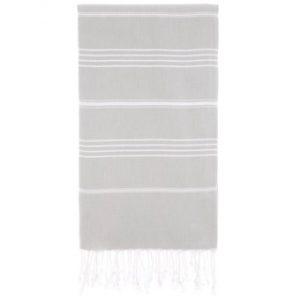 Hammam Håndklæde 95 x 180cm lysegrå
