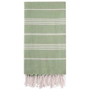 Hammam Håndklæde 95 x 180cm Støv grøn