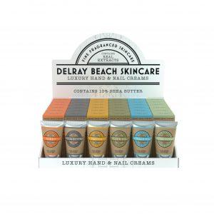 Delray Beach hand & nail cream display