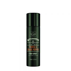 Body Deo Spray 150ml Thistle & Black pepper
