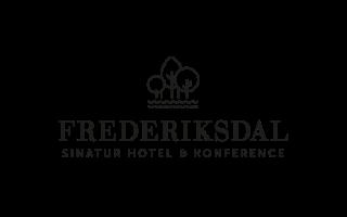 Frederiksdal-sinatur-hotel-og-konference, reference logo hos AlgeNord