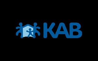 KAB reference logo hos AlgeNord